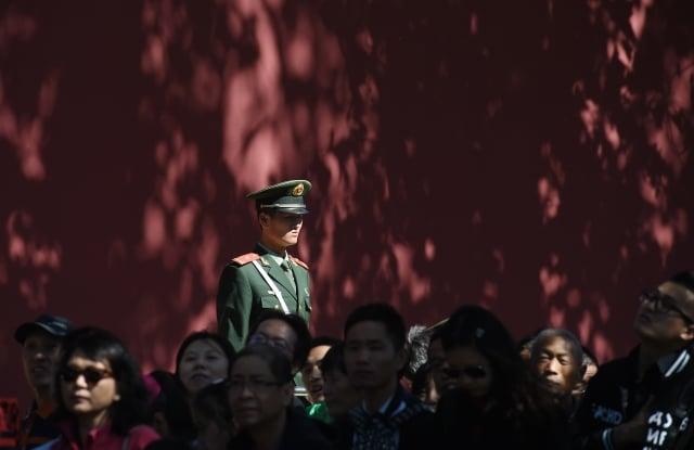 「十一」前夕,中共對所謂「重點人員」進行大肆抓捕。示意圖。(AFP)