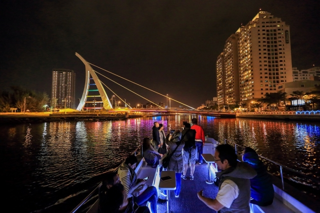 安平運河遊船。(台南市政府觀光旅遊局提供)