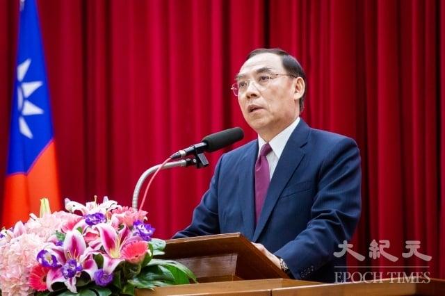 法務部長蔡清祥7日宣示,不容許任何人假政黨外力從事犯罪行為,一定會嚴辦組織犯罪。圖為資料照。(記者陳柏州/攝影)