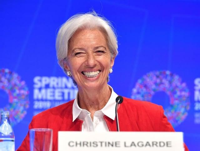 歐盟成員國正式通過任命拉加德為歐洲央行新行長。(MANDEL NGAN / AFP)