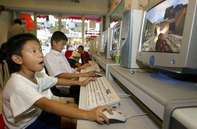 青少年網路成癮的問題在亞洲國家也日益嚴重。(Paula Bronstein/ Getty Images)