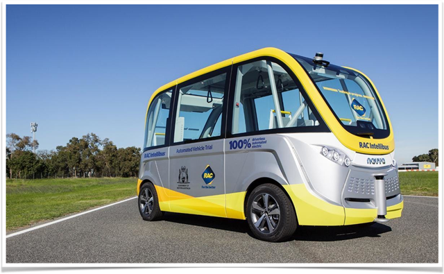 好道設計,無人電動公車。(建經提供)