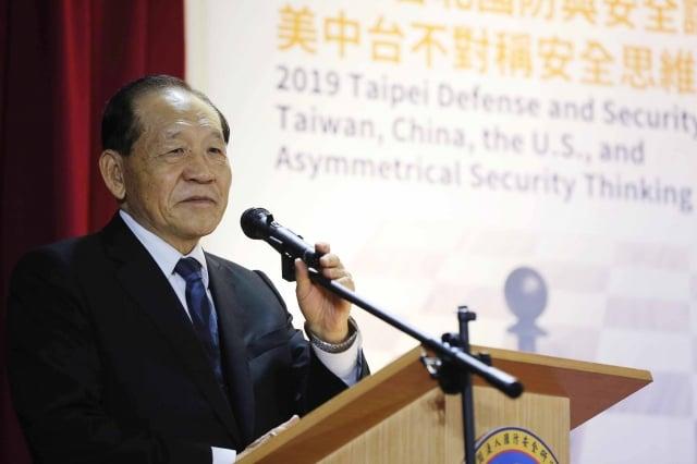 國防院董事長霍守業表示,研討會是有鑑於兩岸關係是停滯狀態,中共對台灣威脅與日俱增,特邀學者專家一起研討,希望於兩岸關係上有好的結論。(中央社資料照)