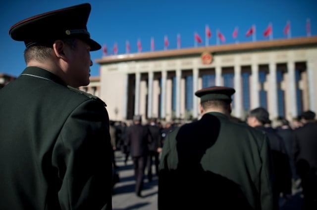 中共四中全會所謂的「中國之治」,外媒分析,是人民的自由減少,恐懼增多。示意圖。(Getty Images)