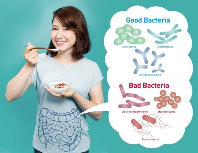 想要遠離過敏除了依照醫囑,也建議耐心調整生活型態、多運動、飲食均衡多樣化、攝取充足蔬果,並搭配適合自己的益生菌種來增加腸道的好菌,讓過敏症狀得以緩解,才能擺脫過敏人生!(Fotolia)