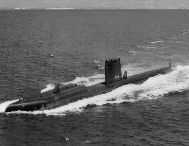 美國海軍「灰背號」潛艦(United States Ship Grayback)於1944年2月在東中國海域執行任務時被日軍擊沉。 (U.S. Navy提供)