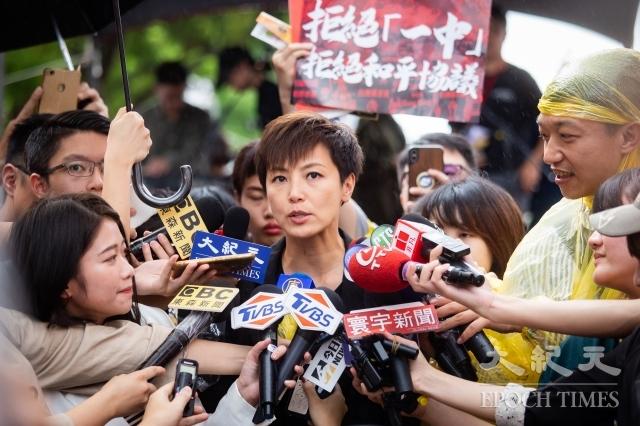 香港歌手何韻詩。圖為資料照。(記者陳柏州/攝影)