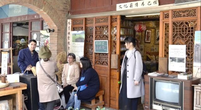 新生醫專小鎮輕旅遊--石店子書店。