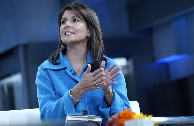 美國前駐聯合國大使海利(Nikki Haley)。(John Lamparski/Getty Images)