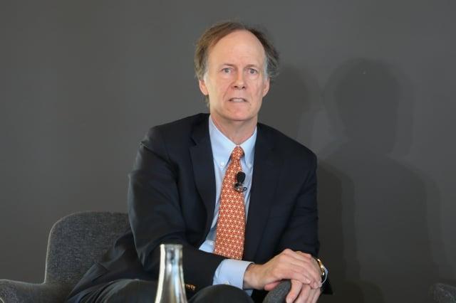 2019年諾貝爾醫學學獎獲得者凱林(William Kaelin Jr)。(記者林樂予/攝影)