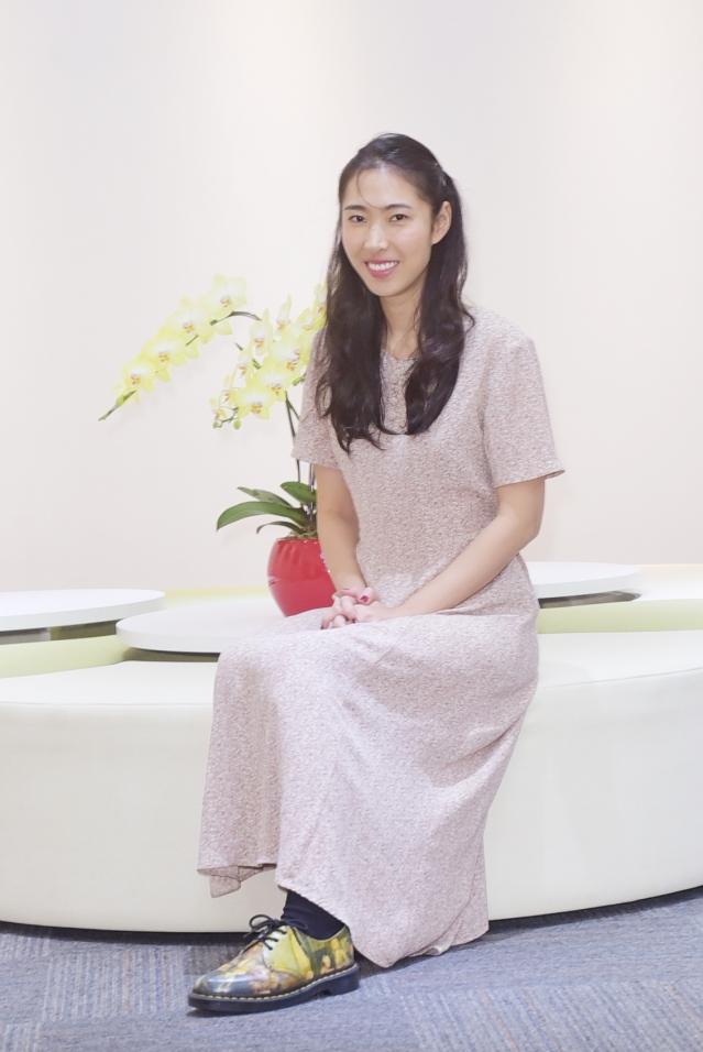 創作才女王若琳(記者黃宗茂/攝影)