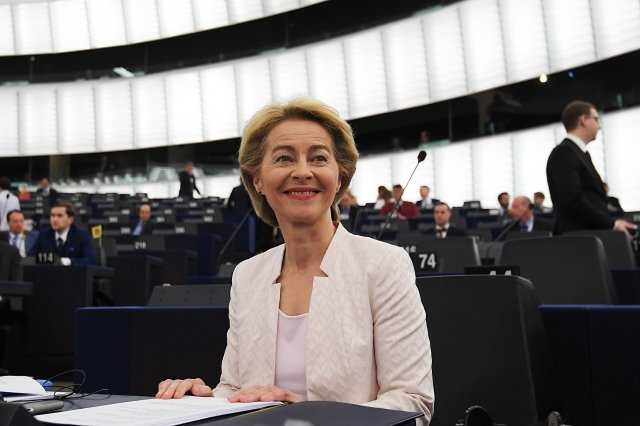 歐盟執委會主席范德賴恩(圖)被認為是對中共及俄羅斯的強硬派。(AFP/Getty Images)
