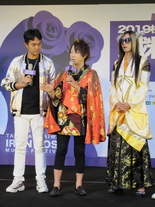 鐵玫瑰樂團大賽得獎前往馬來西亞演出的3組樂團 青虫 aoi、後站人、Wednesday與壞透。