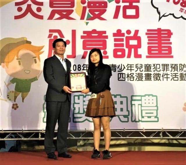 明台高中室內設計科連續獲得十座全國技藝競賽室內設計金手獎。