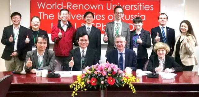 中原大學工學院與俄羅斯兩所頂尖大學合作,攜手培育國際工程人才。