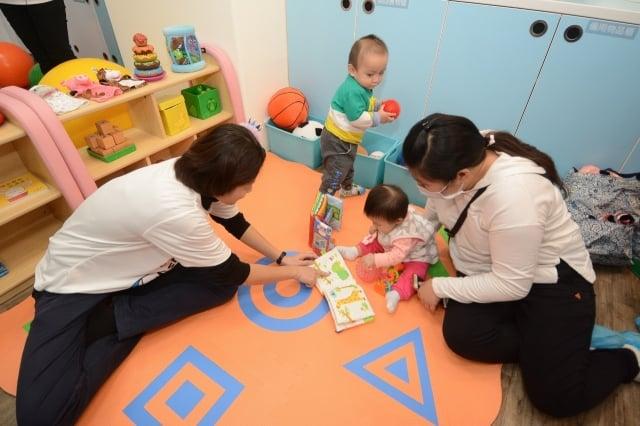 公設民營桃園托嬰中心開幕,提供平價、優質托育服務。