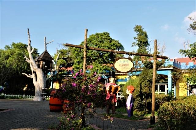 安徒生童話花園。(攝影/吳雁門)