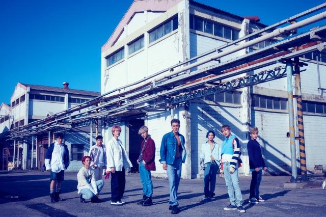 SUPER JUNIOR第九張正規專輯《Time_Slip》宣傳照(Hit Fm聯播網提供)