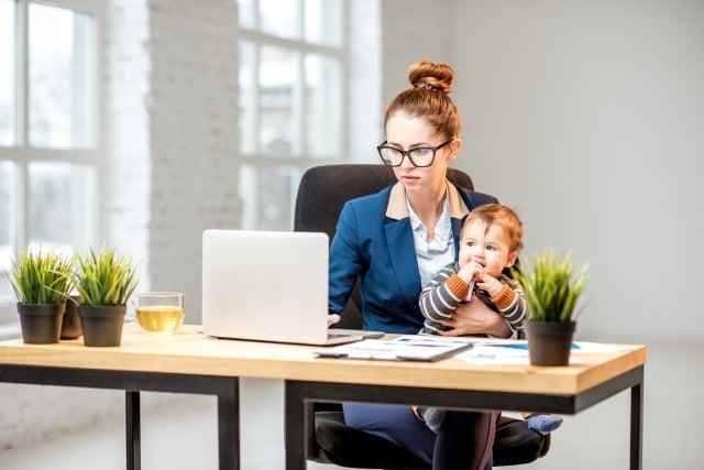 全職媽媽所要具備的能力,絕對不輸職場精英!(123RF)