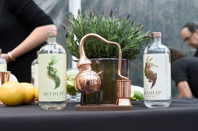 全球第一個零度蒸餾酒品牌「Seedlip」,已成為高級時尚的飲品。(Getty Images)