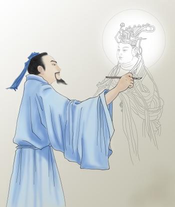 畫聖吳道子 一幅名作震動長安