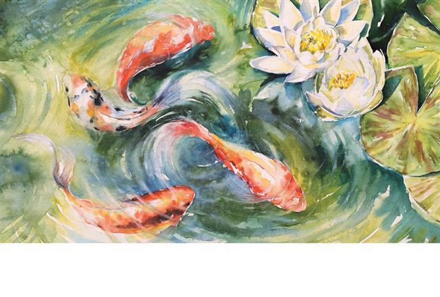 「泉涸,魚相與處於陸,相咰以濕,相濡以沫,不如相忘於江湖。」(123RF)
