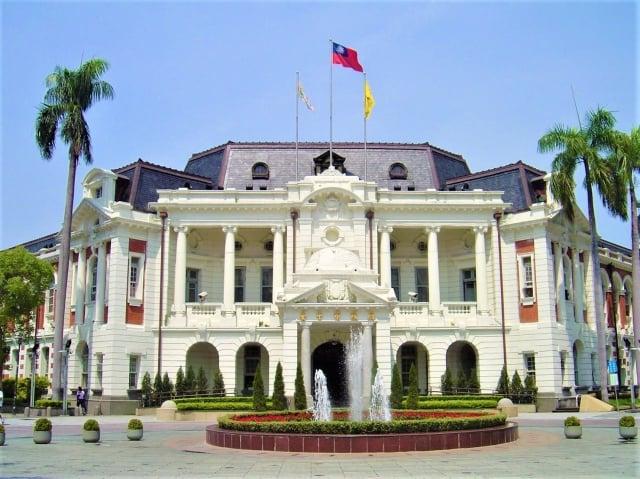 台中市府宣布,台中州廳將不交給文化部規劃為「國美二館」。(記者黃玉燕/攝影)