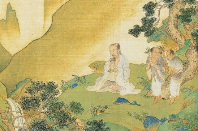 在中國古代,幾千年來都是醫道不分家,很多神醫是修道之人,很多道士也多擅長鎮瘟除疫。圖為神農氏像,出自明仇英《帝王道統萬年圖》。(維基百科)