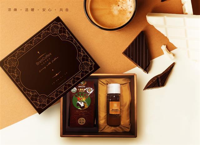 來自瓜地馬拉的有機咖啡及蜂蜜特別香醇濃郁。(百里特提供)