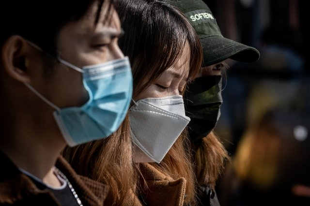 中國青年屠龍表示,作為武漢事件的倖存者,這輩子有義務為死去的人發聲。示意圖。(Getty Images)