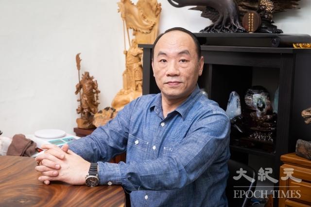 演員王自強。(記者陳柏州/攝影)