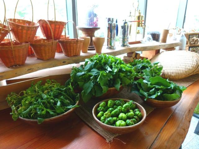 來自部落小農的健康食材。(攝影/龍芳)