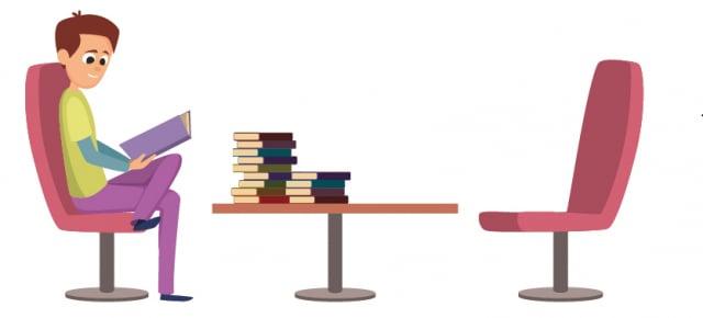 閱讀不僅可以培養邏輯思辨能力,更能惕勵人生向前邁進。(123RF)