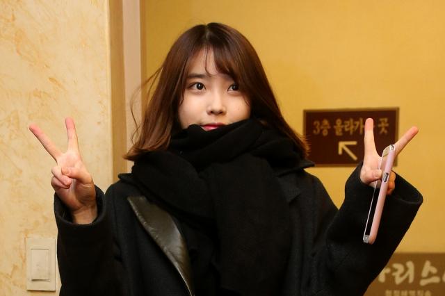 韓國人氣歌手IU(李知恩),圖為資料照。(Getty Images)