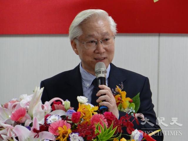 吳政忠表示,他將延續卸任部長陳良基為臺灣科技環境打下的堅實基礎。(記者袁世鋼/攝影)