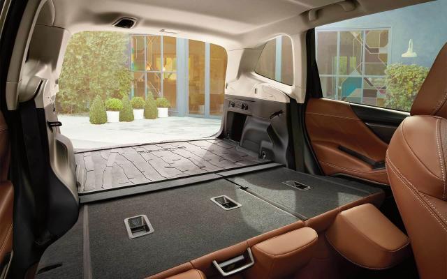 速霸陸Forester的內部空間在同型車中最大。(Subaru.com)