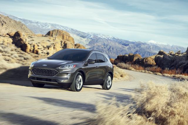 福特Escape有優雅的外型及良好的流線。(Ford.com)