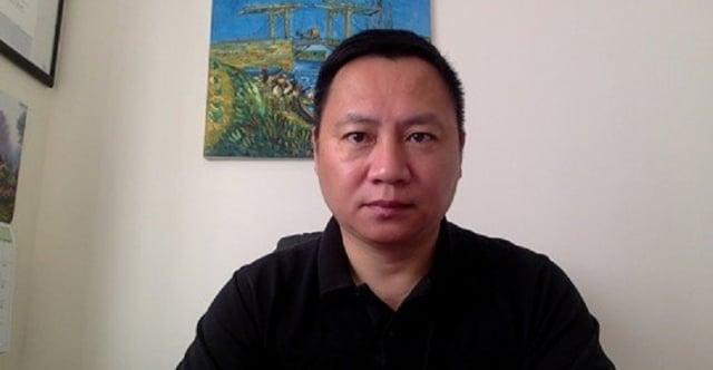 當年「六四學運」領袖王丹,譴責中共是靠「騙」字起家的詐騙集團。(王丹Facebook)