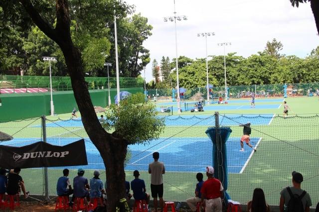 2020全中運7月18日至23日在屏東登場,其中網球8強會內賽9日率先開打。(屏東縣政府提供)