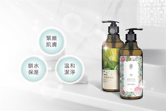 選用自然潔淨配方,不添加矽靈、防腐劑等有害化學成分的洗潔產品,就是打造健康肌膚與頭皮的關鍵第一步。(大紀元製圖)