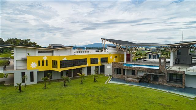西拉雅國家風景區|官田遊客中心|全新開幕的官田遊客中心是視覺的饗宴。(西拉雅國家風景區管理處提供)