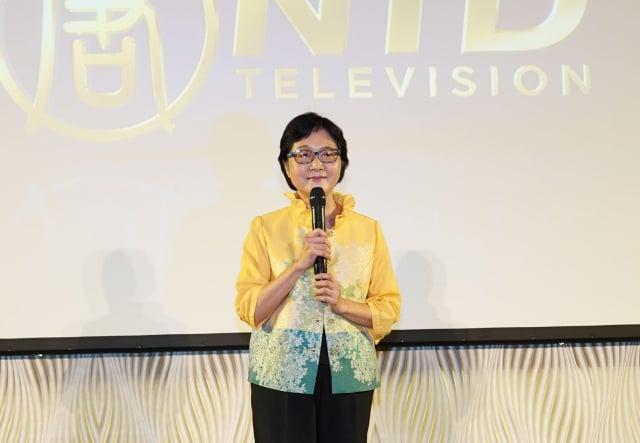 新唐人亞太電視台董事長張瑞蘭,感謝屏東鄉親對新唐人熱情的支持與鼓勵。