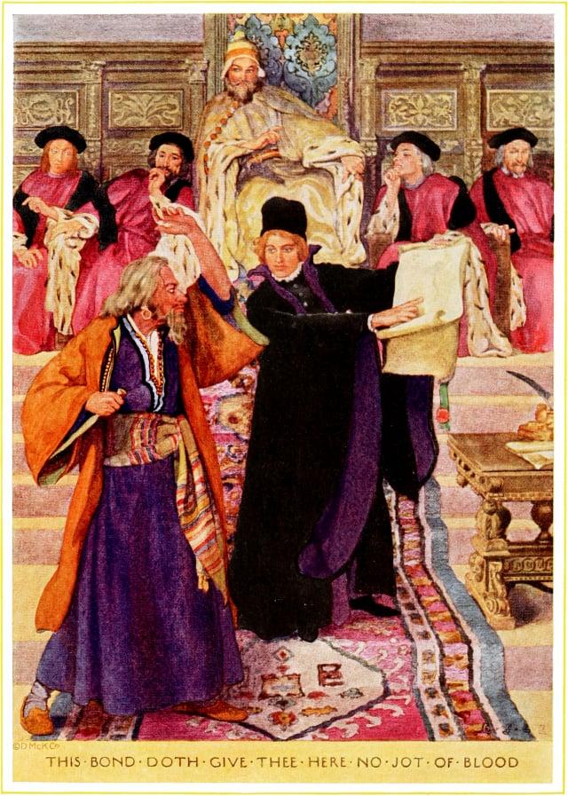 莎士比亞小說《威尼斯商人》中的波西亞。(維基百科)