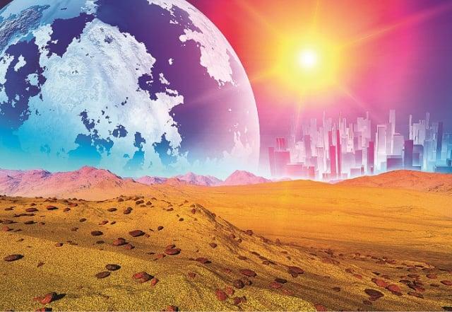 1962年,來自澤塔星球的訊息表明,在1964年4月,澤塔星球將向地球派出正式的外交使團,飛碟降落地點定在新墨西哥州阿拉莫戈多市外的霍洛曼空軍基地。(Shutterstock)
