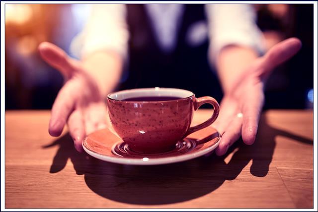 喝一杯咖啡的時間 可以是10分鐘 也可以是一整個下午。(123RF提供)