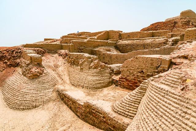 印度文明古國的摩亨佐達羅古城。(123RF)
