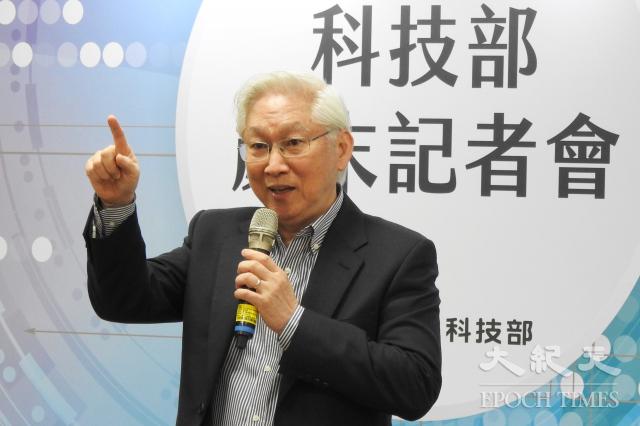 科技部長吳政忠表示,臺灣科研應要有容忍失敗的雅量,不要過於重視KPI(關鍵績效指標)。(科技部提供)