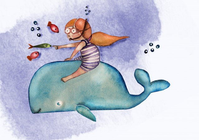 繪本的優點不只是形式上的閱讀,還能成為幼兒了解日常生活經驗的工具,也可藉由繪本的故事提升幼兒情緒控制與社會互動的能力。(123RF)