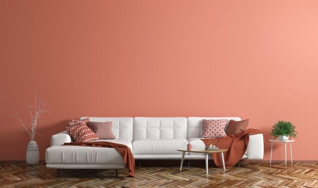 單色配色是室內設計的最新趨勢。(Shutterstock)