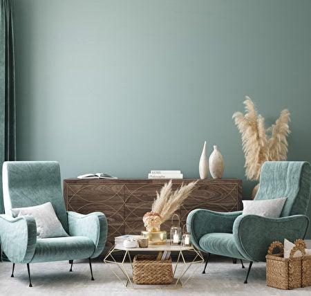 選擇一個你覺得最舒服的顏色,松石綠是不錯的選擇。(Shutterstock)